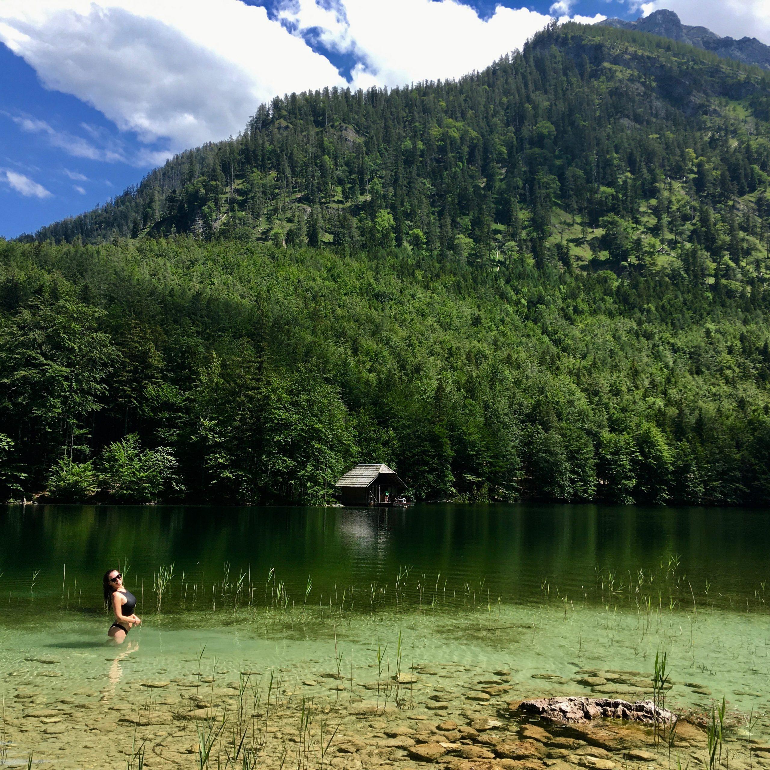 Koupání u rakouských jezer, Hinterer Langbathsee