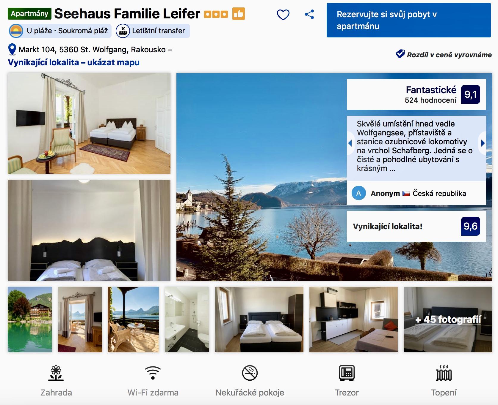 Seehaus Familie Leider