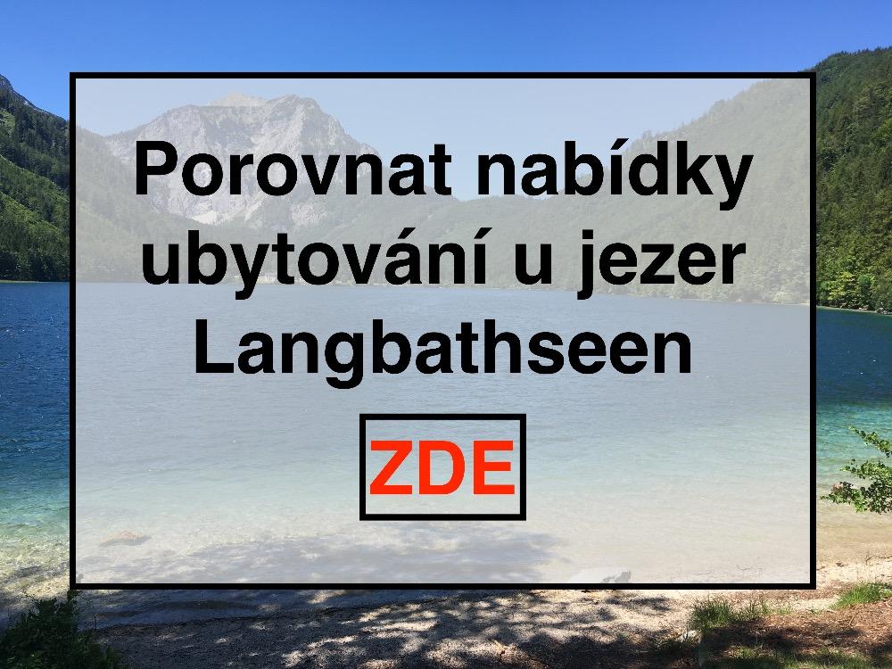 Ubytování u Langbathseen, Rakouská jezera