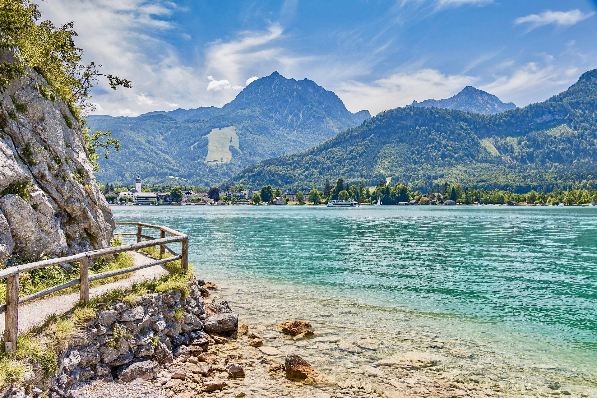 Wolfgangsee, Rakousko
