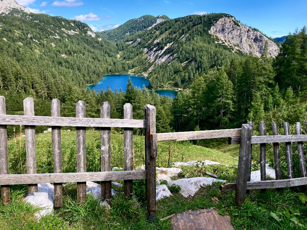 Tauplitzalm: jezero Steirersee