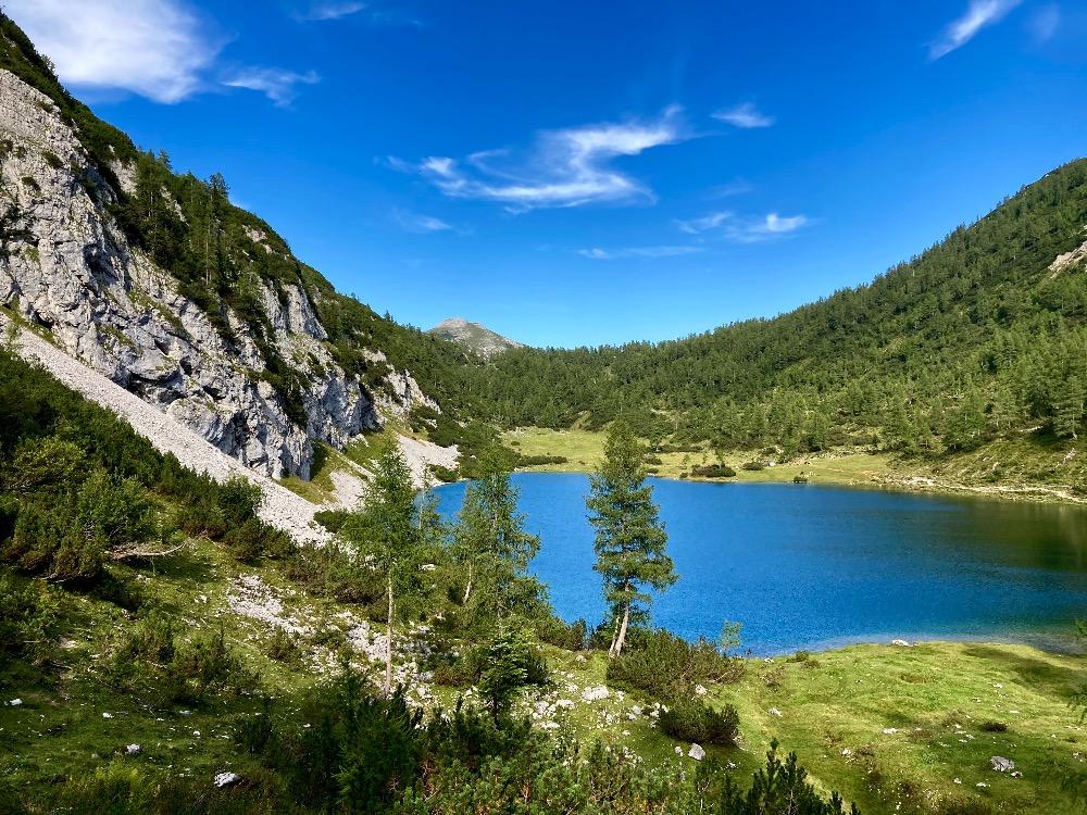 Tauplitzalm: jezero Schwarzensee