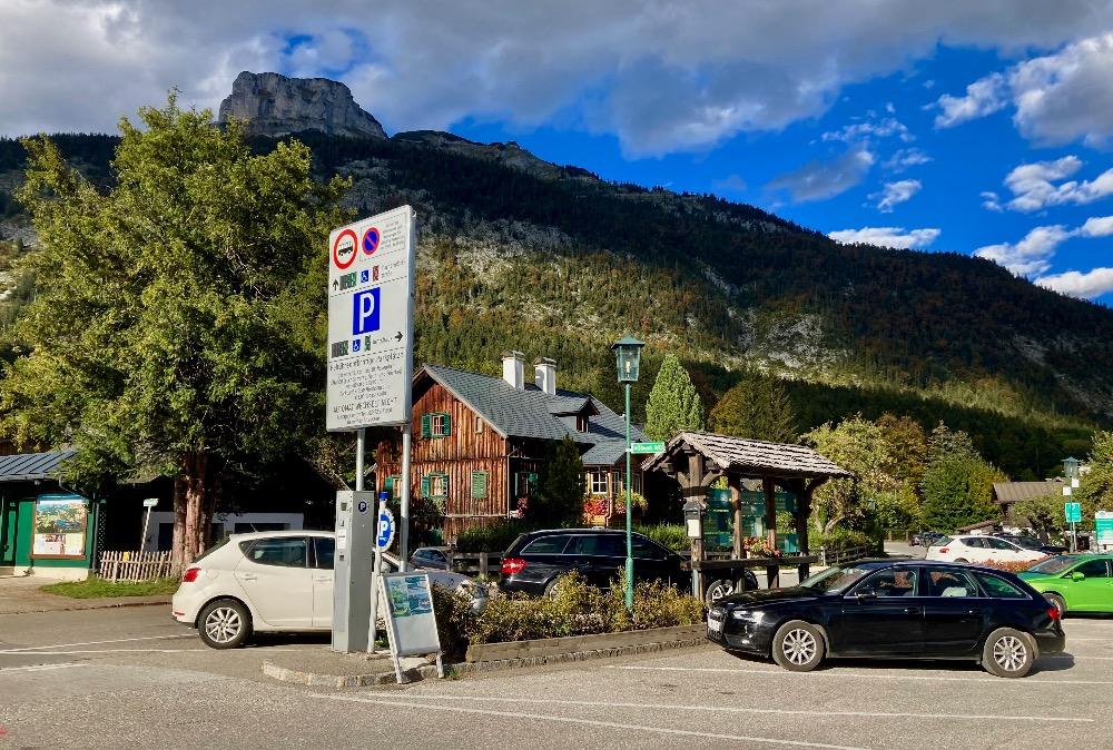 Parkování v Altaussee