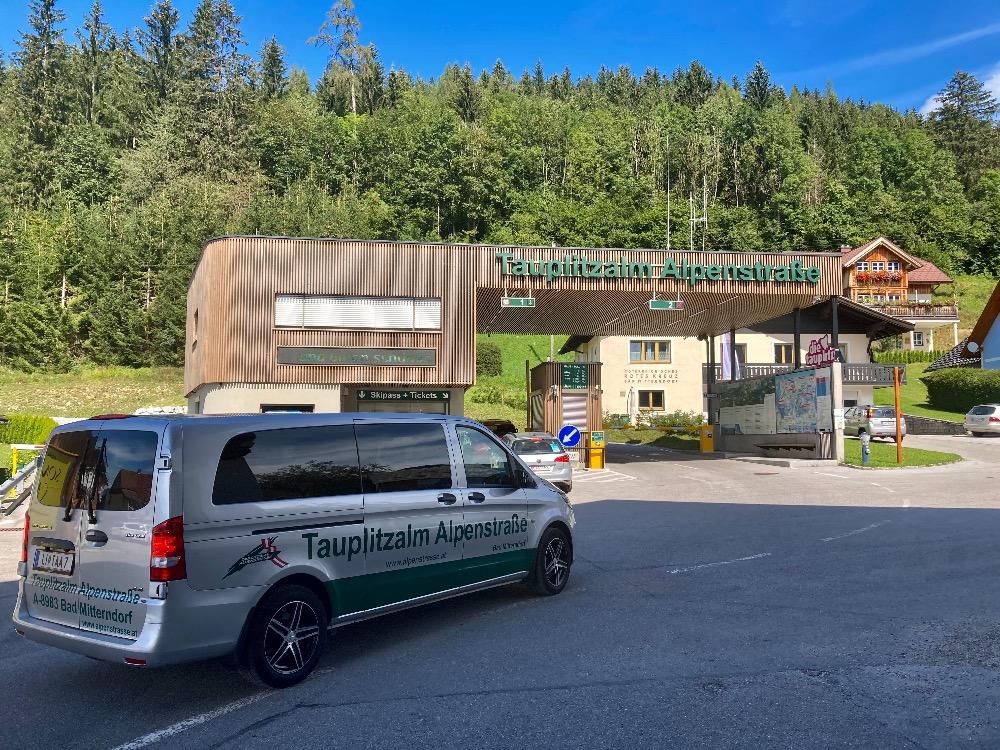 Doprava a parkování na Tauplitzalm