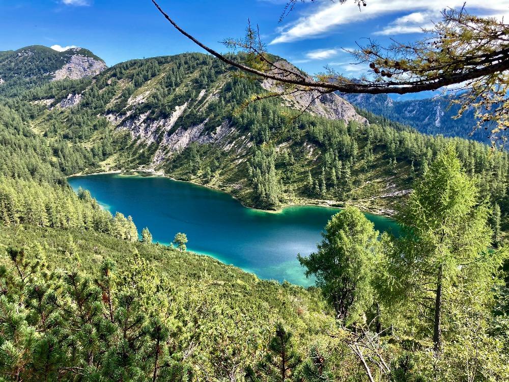 Dovolená v Tauplitz: jezero Steirersee