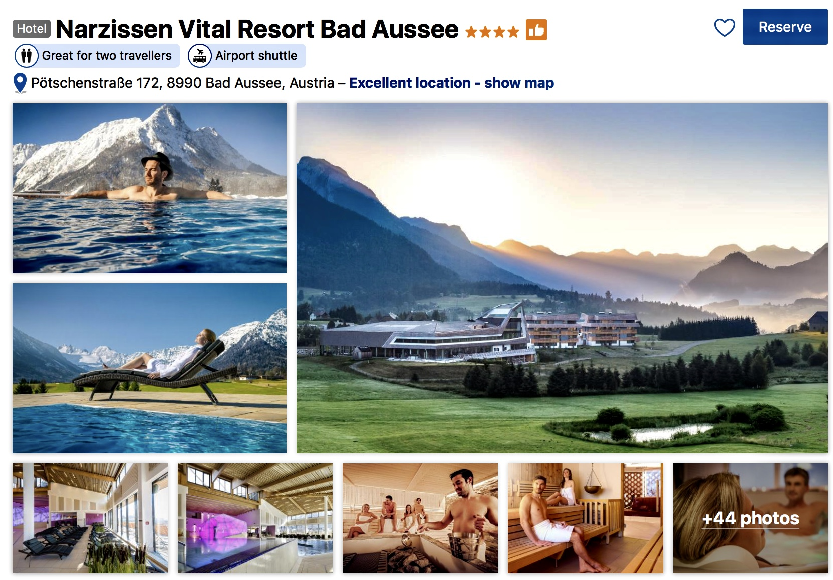 Narzissen Vital Resort Bad Aussee