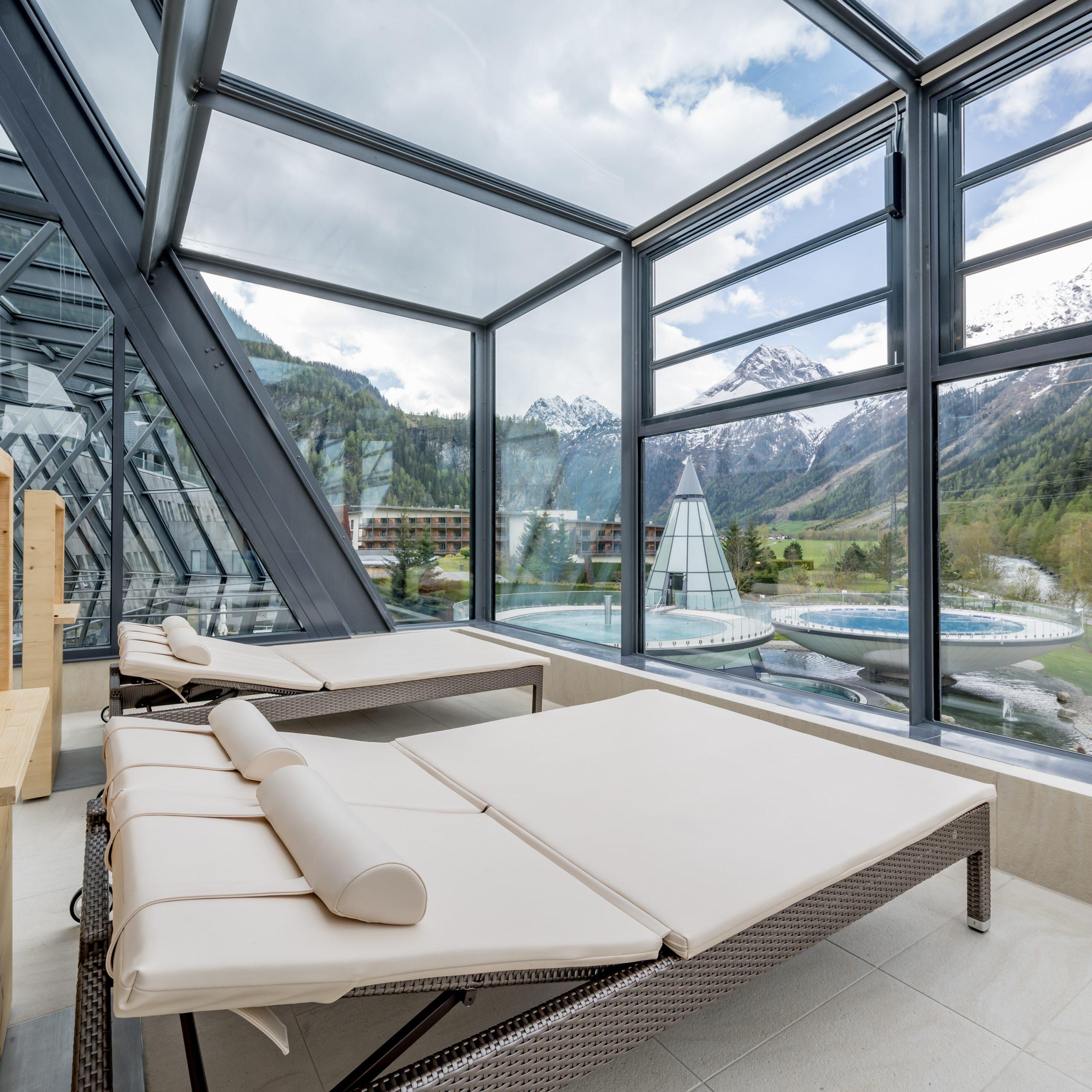 Aqua Dome Längenfeld / Rakouská jezera