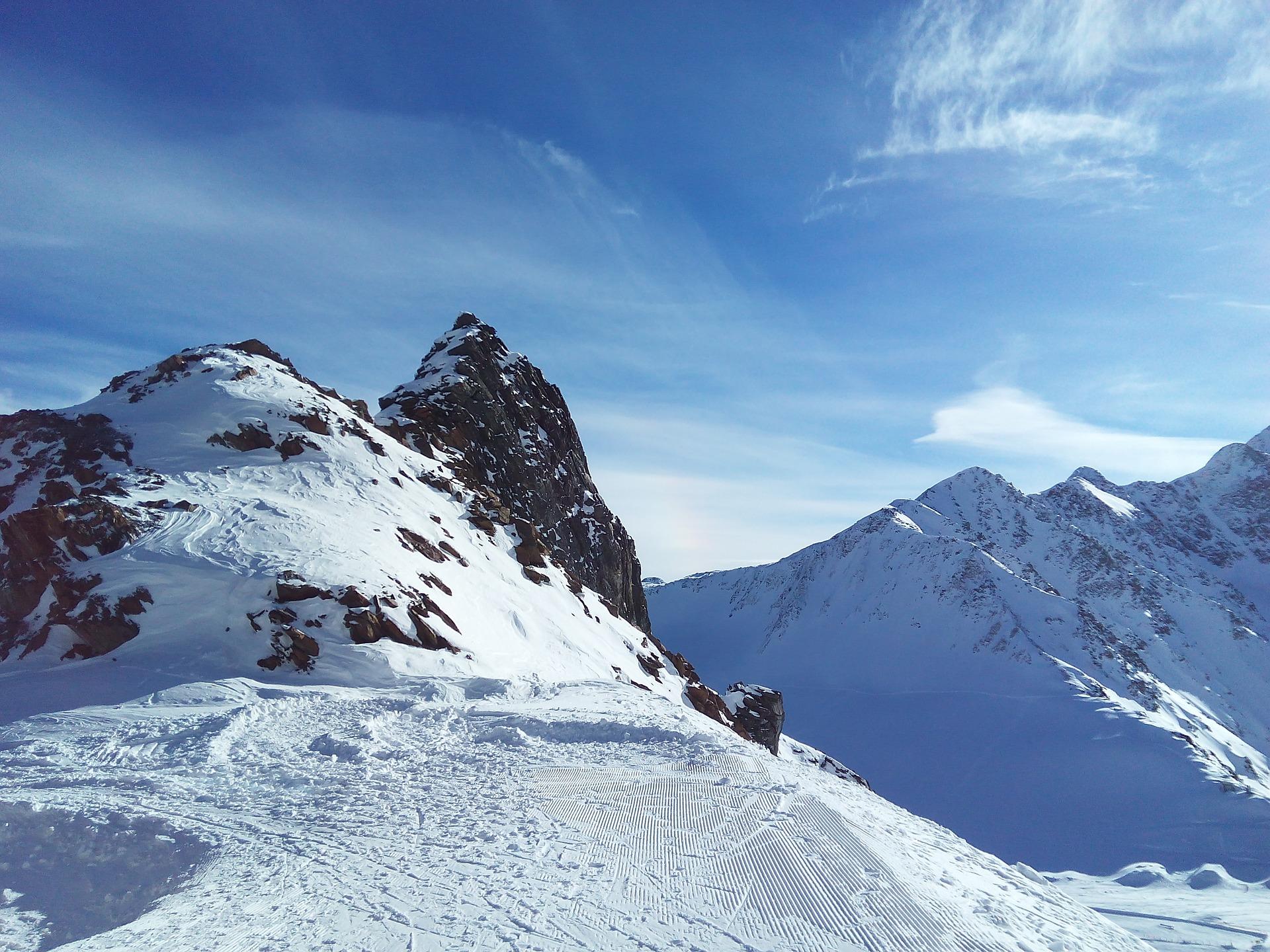 Ledovec Pitztal / Rakouská jezera